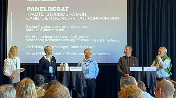 Paneldebat. (Foto: Lars Bo Axelholm)