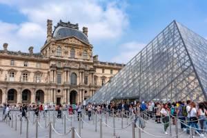 museu do Louvre sem fila