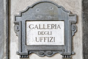 galleria uffizi em Florença