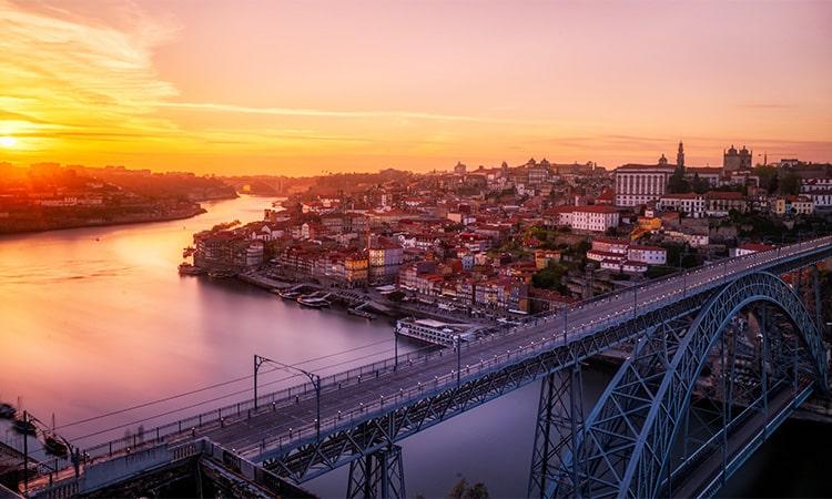 pontos turisticos de portugal ponte luis i