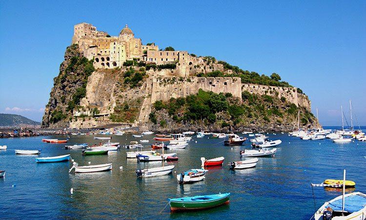 Castelo Aragonês em Ischia