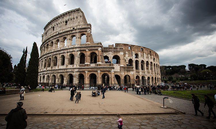 Roma e o Coliseu