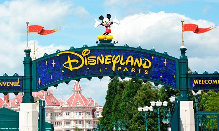Parque Disneyland em Paris