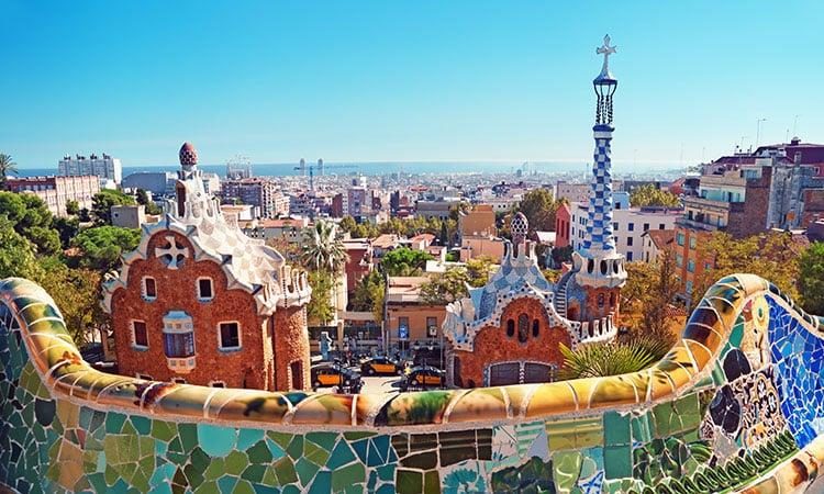 Park Güell em Barcelona