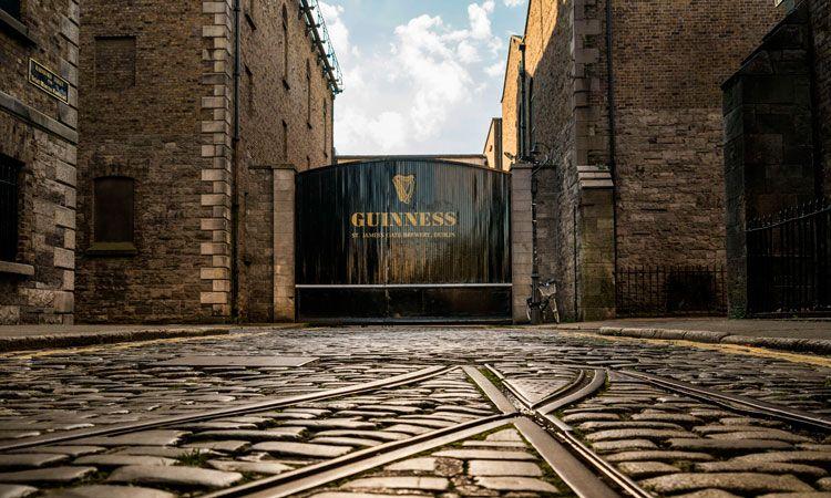 Guinness Storehouse é ponto turístico em Dlubin