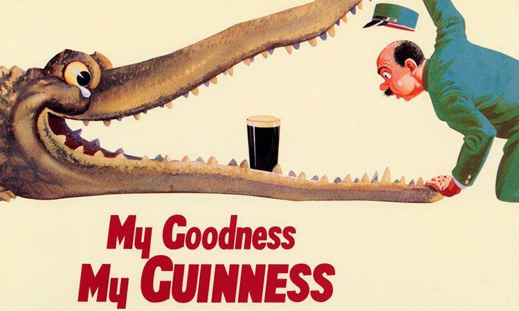 História da publicidade da Guinness