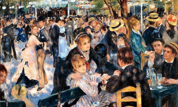 Le Moulin de la galette, quadro Renoir