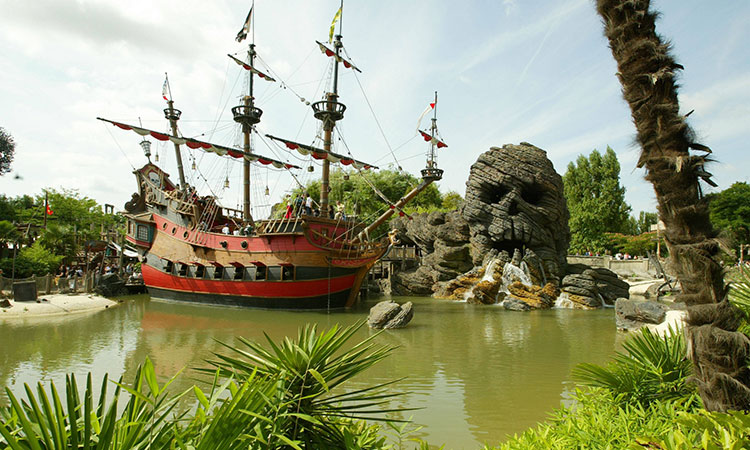 Pirates of the Caribbean na Euro Disney