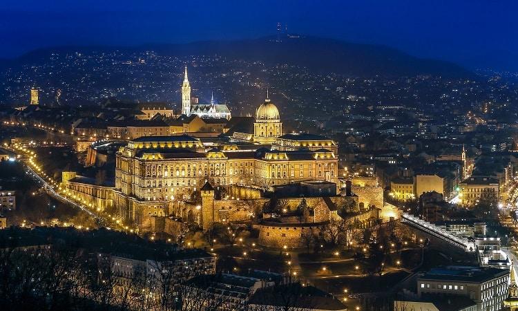 Castelo de Buda em Budapeste