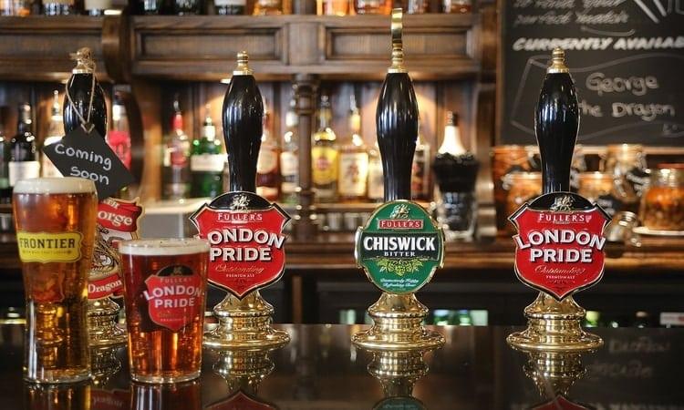 cervejas em Londres