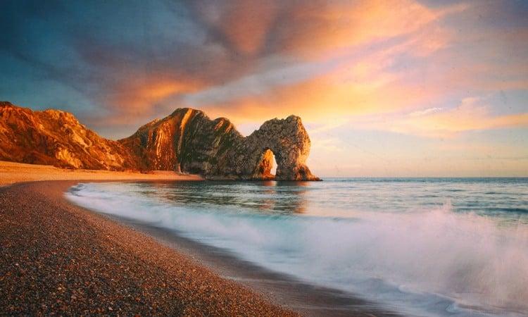 durdle door, praias na inglaterra