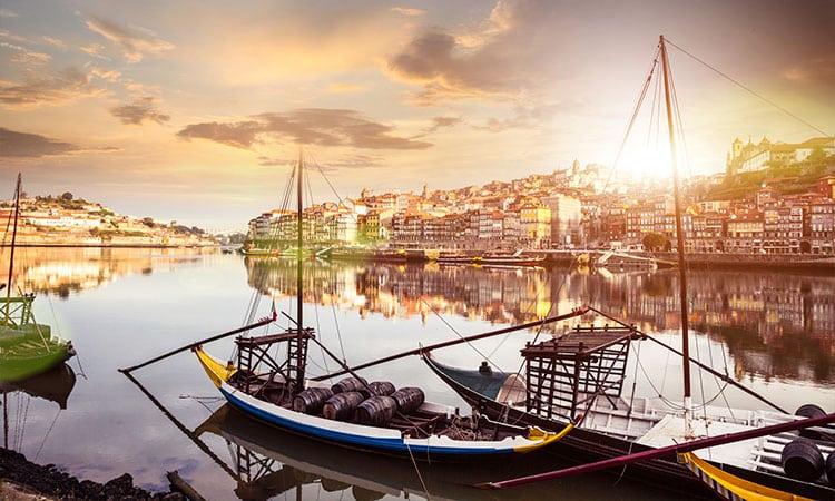 lua de mel em portugal porto