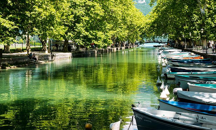 annecy lago, belezas naturais na franca