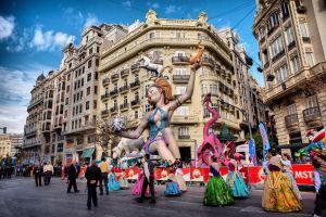 festa mais tradicional de valencia na espanha