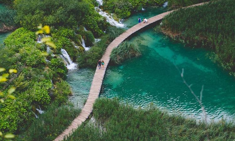 pontos turisticos na croacia lagos de plitvice