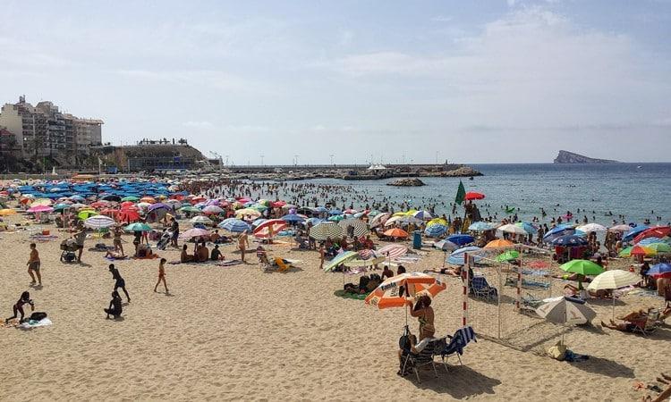 benidorm praia