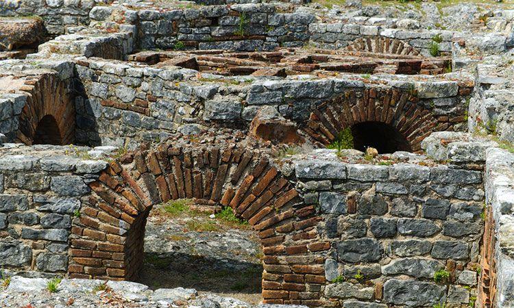História das ruínas romanas de Conímbriga