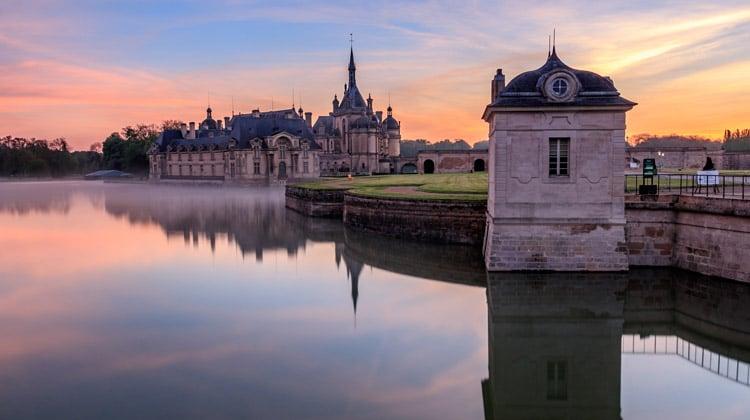 cidades perto de paris chantilly