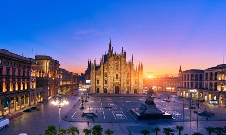 cidades da italia mais visitadas milao