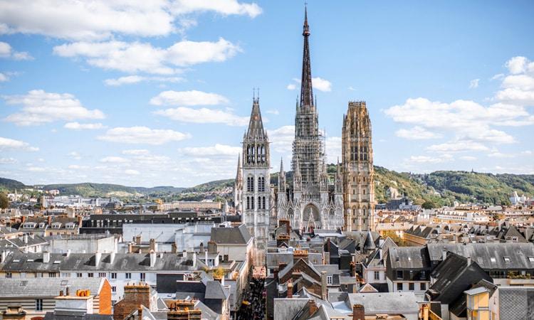 igrejas mais altas da europa catedral de ruao