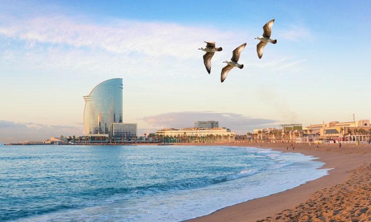 praias de barcelona barceloneta
