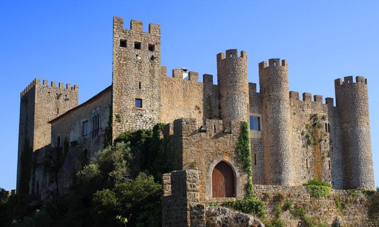 castelo de obidos maravilhas de portugal