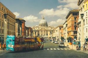 onibus de turismo em roma
