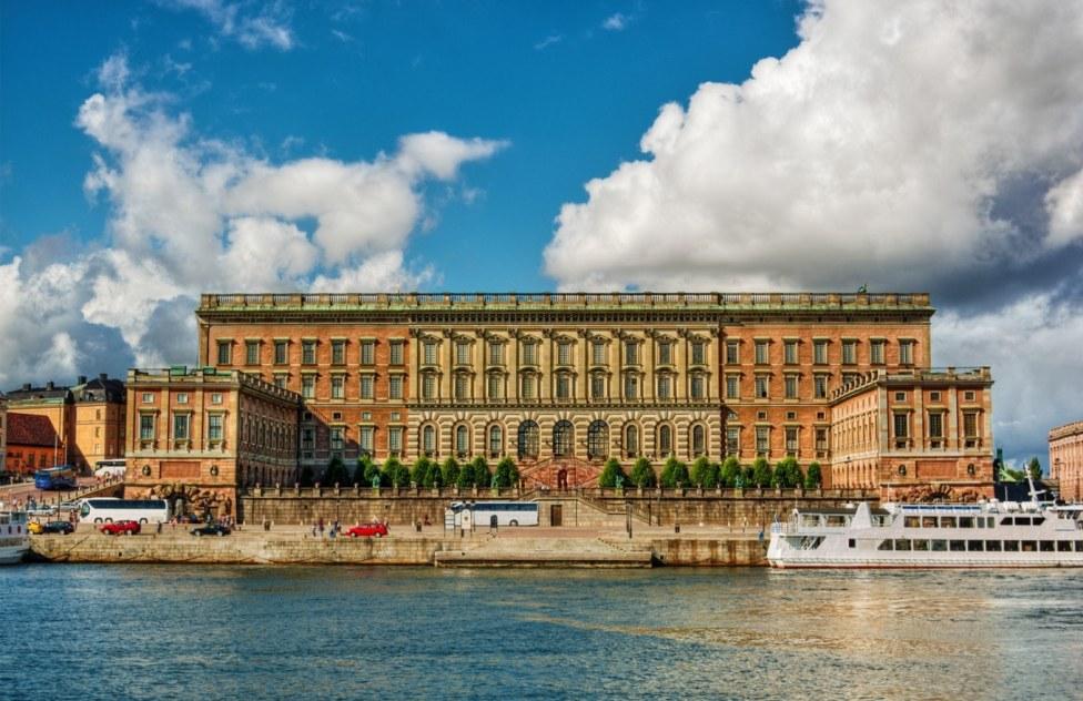 Resultado de imagem para palácio da Suécia, Estocolmo