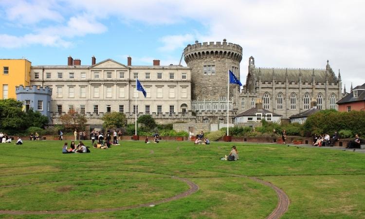 castelo dublin jardim