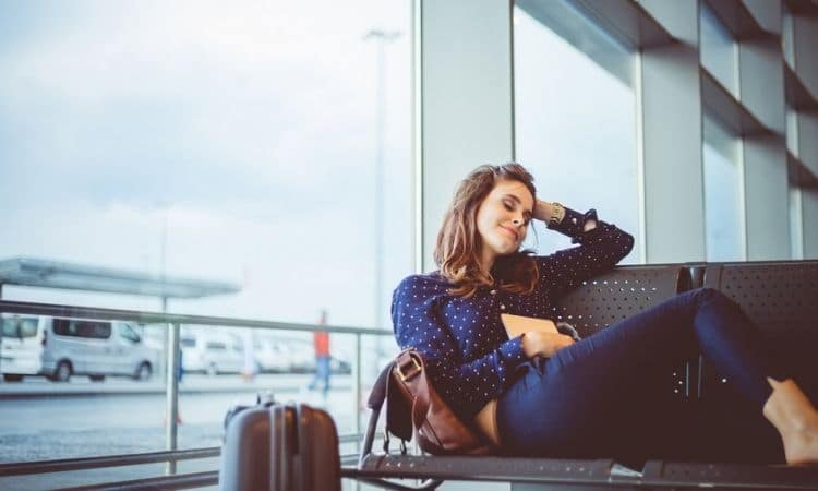 evitar jet lag no aeroporto