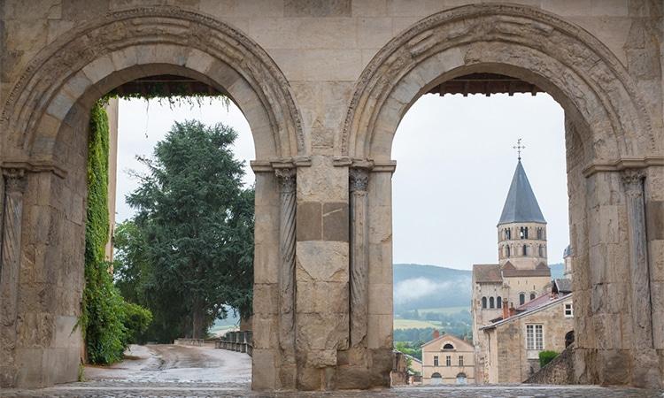 abadia de cluny em borgonha