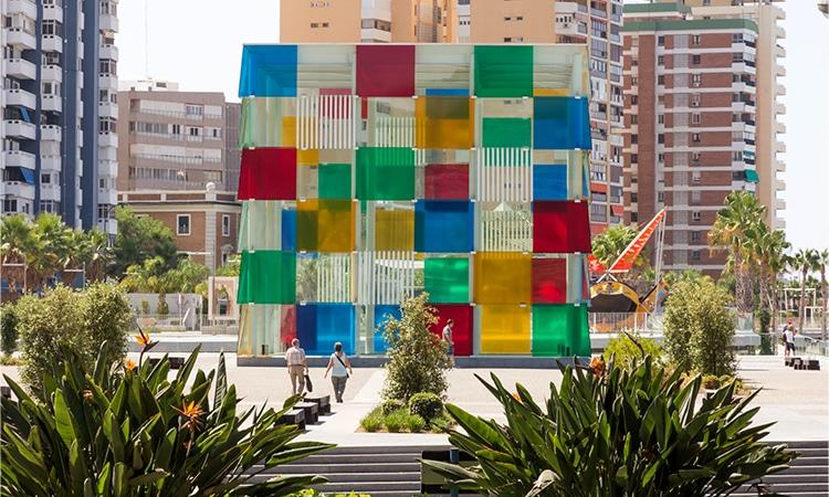 o que fazer em Malaga pompidou