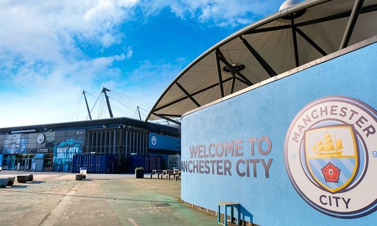 etihad stadium é o estádio do manchester city