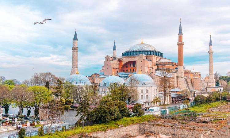 Hagia Sophia em Istambul Turquia