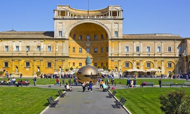 ingressos para museus do vaticano patio