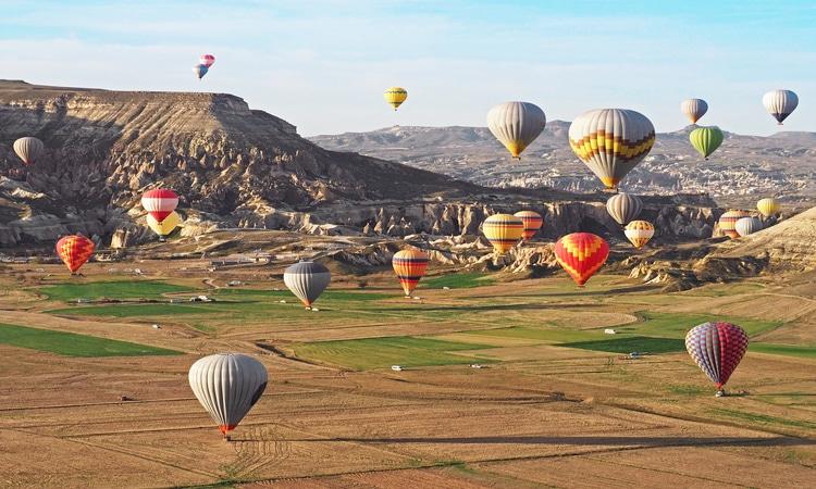 paisagem em capadocia turquia