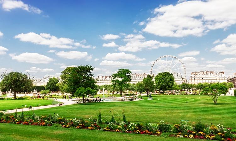 visitar o jardim de tuileries