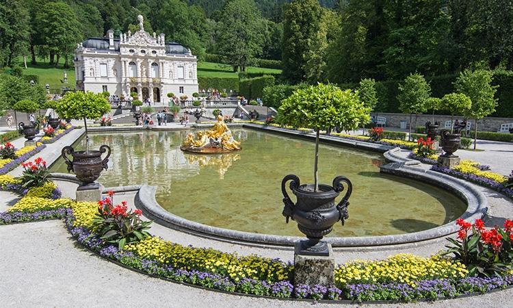 visitar o palácio de linderhof