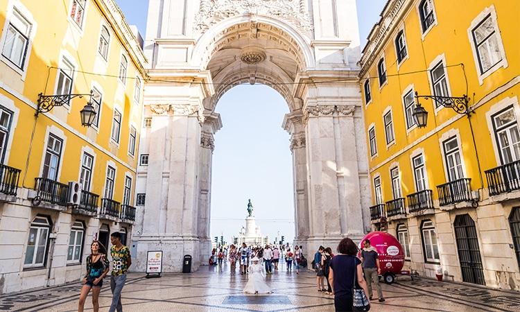 2 dias em Lisboa Arco Rua Augusta