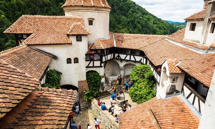 Castelo de Bran interno