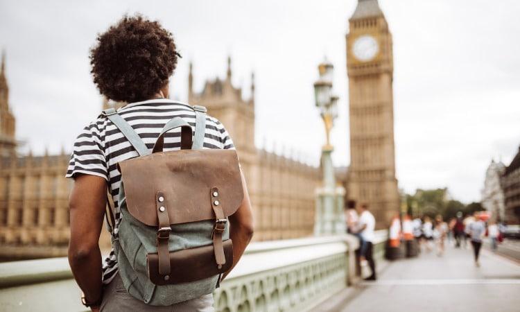 Londres turista Big Ben