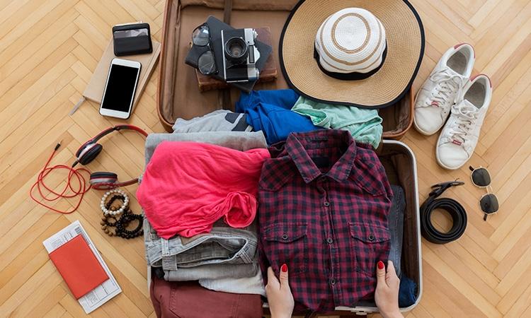 o que levar na mala de viagem arrumando