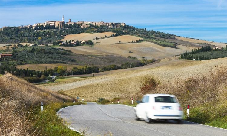 Road trip na Itália