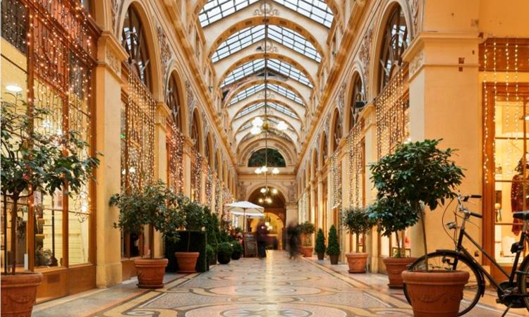 galerias de compras em paris