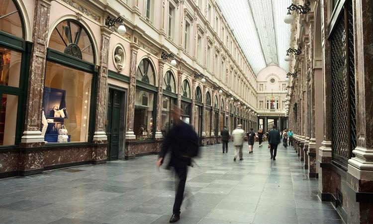 Galerias Saint Hubert Bruxelas