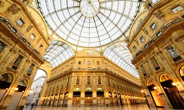 Galleria Vittorio Emanuele Milão