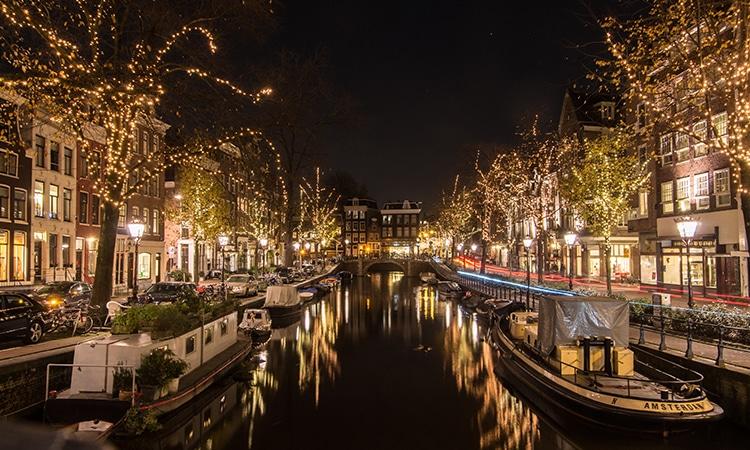Canais de Amsterdam