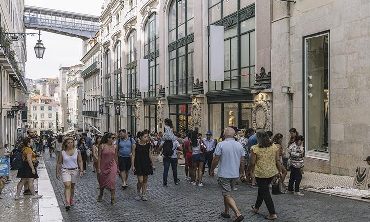Fazer compras em Portugal