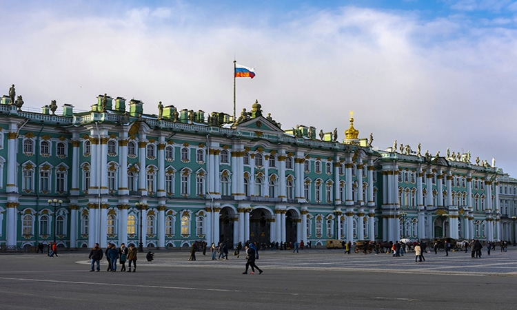 museu hermitage na russia