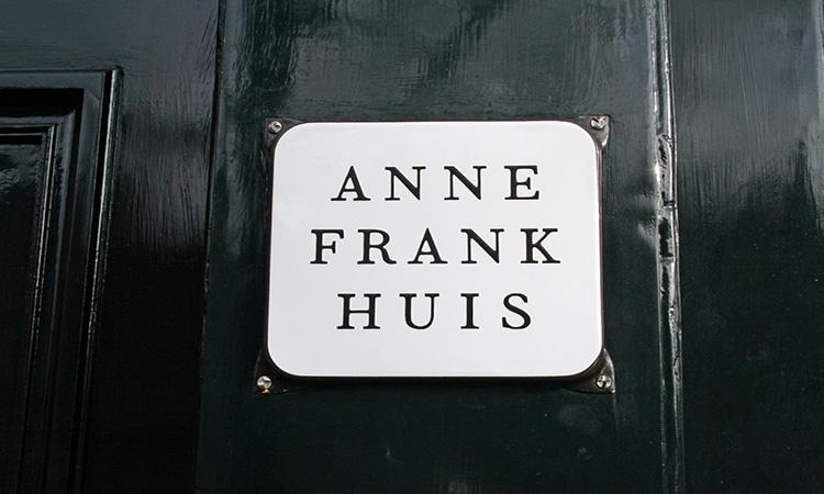 entrada da casa de anne frank